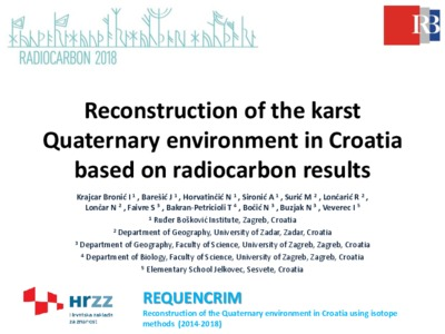 radiocarbon dating for the quaternary sciences